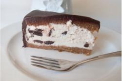 Gâteau glacé au chocolat et...
