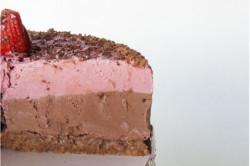 Gâteau au fromage fraises...
