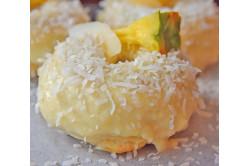 Baked Pina Colada Donuts