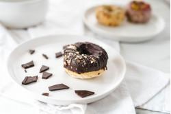 """Baked """"Nanaimo"""" Donuts"""