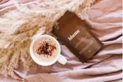 Blume Reishi Hot Cacao Latte